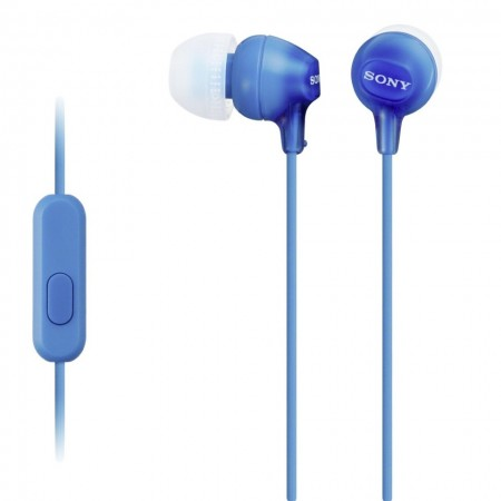 Casti audio In-ear Sony MDREX15APLI, Control Telefon, Albastru