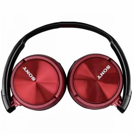 Casti audio Sony MDRZX310APR, tip DJ, Control Telefon, Rosu