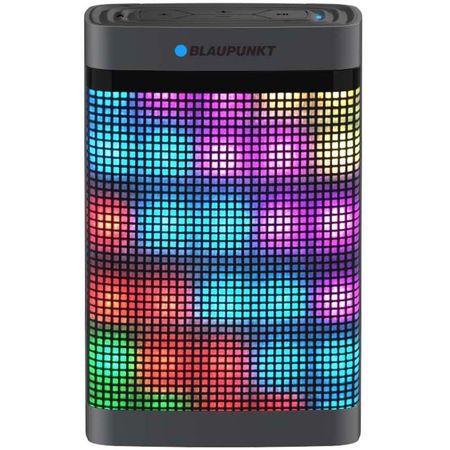 Boxa portabila Blaupunkt BT07LED, Lumini LED, Bluetooth, FM radio, microSD, AUX