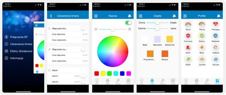 Boxa portabila Blaupunkt BT25LAMP, Bluetooth, FM, slot microSD, Aux, 10W RMS, MP3, alarma, lumina led RGB 360 de grade, aplicatie Android/iOS, alb