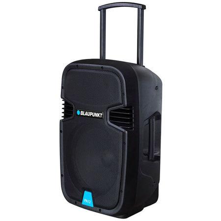 Boxa portabila profesionala Blaupunkt PA12, 650W, Bluetooth, FM/SD/USB/AUX/karaoke