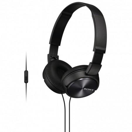 Casti audio Sony MDRZX310APB, tip DJ, Control Telefon, Negru
