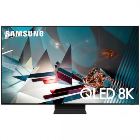 Televizor Samsung 65Q800T, 163 cm, Smart, 8K Ultra HD, QLED, Clasa D