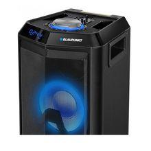 Boxa portabila profesionala Blaupunkt PS10DB, Bluetooth, FM, SD, USB, Karaoke, lumini disco, negru