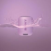 Boxa portabila Sony SRSXB12V, EXTRA BASS, Bluetooth, Rezistenta la apa IP67, Violet