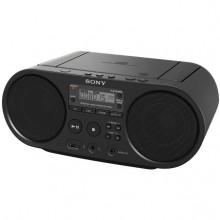 Microsistem audio Sony ZSPS50, CD Player, tuner FM, 2x2W, USB, Negru