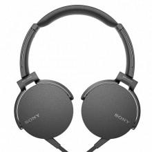 Casti audio Sony MDRXB550APB, EXTRA BASS, Difuzor neodim 30mm, Negru