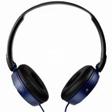 Casti audio Sony MDRZX310APL, tip DJ, cu control telefon, Albastru