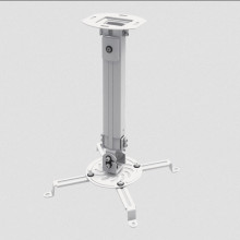 SBOX PM-18S Suport pentru proiector, tavan Weight capacity: up to 13,5 kg Mounting range fi: from 54 to 320 mm Distance from celling: 380-580 mm Tilt: -15° to +15° Swivel: -15° to +15° Rotation: 360°