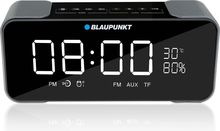 Boxa portabila Blaupunkt BT16CLOCK, Bluetooth, FM, slot microSD, AUX, 3.8W RMS, alarma, ceas, temperatura, negru