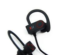 Casti wireless Xblitz Pure Sport, bluetooth v4.1+ EDR, IPX4, microfon incorporat, negru/rosu
