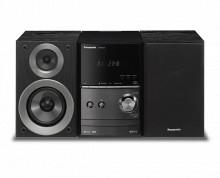 Microsistem,SC-PM600EG-S, 40W, FM, CD, USB, Bluetooth, negru, Panasonic
