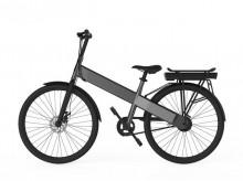 Bicicleta de oras electrica CityBike Basic Allocacoc 10790GY, Gri