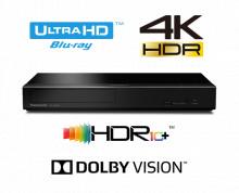 Blu-ray player Smart Native UHD 4K,DP-UB450EG-K, Wi-Fi, negru, Panasonic