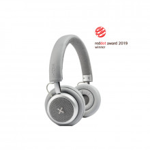Casti Wireless SACKit TOUCHit Headphones Silver