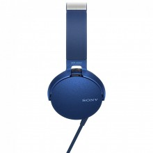 Casti audio Sony MDRXB550APL, EXTRA BASS, Difuzor neodim 30mm, Albastru