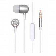 Căști Motorola Stereo Earbuds Metal Silver cu fir