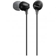 Casti audio In-ear Sony MDREX15APB, Control Telefon, Negru