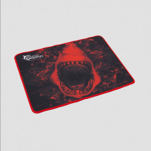 Gaming Mouse Pad White Shark GMP-1699 SKY WALKER L 400 X 300MM, Black/Red