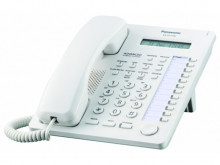 Telefon proprietar Panasonic KX-AT7730NE, analogic, ALB