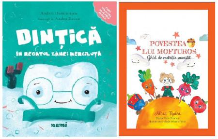 Pachet 2 cărți pentru sănătate orală și nutriție