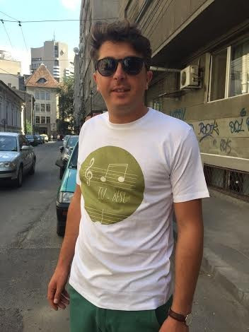 T-Shirt (Him) I LO-VE (Only in Romanian language)