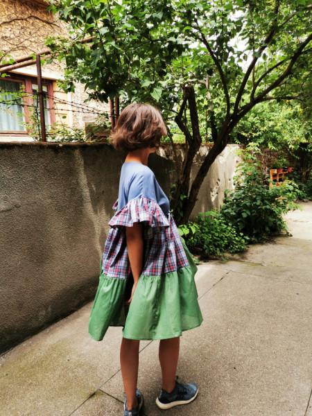 Butterflies and People Dress (model M)