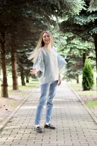 Bluza Cusută cu voie bună