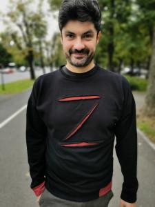 Bluza Poartă masca (lui Zorro)