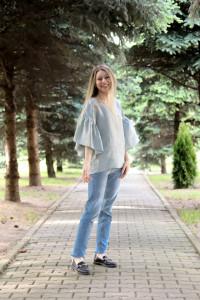 Bluza Cusută cu voie bună (model E)