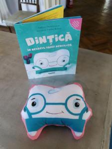 Jucărie de pluș Dințică