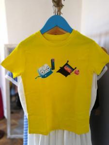 Tricou Dințică și Vrăjitoarea Caria