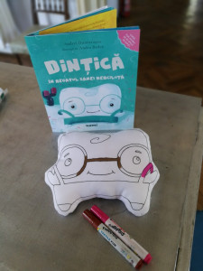 Jucărie de colorat Dințică