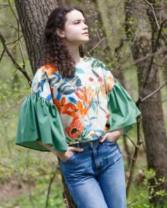 Bluza Culorile sunt zâmbetele naturii