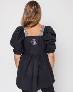Bluza Privește înainte (negru)