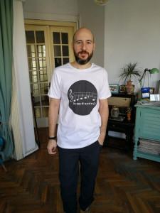 T-Shirt (Him) Romanian Anthem (only in Romanian language)