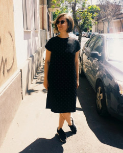 Dress sewed with kindness (M)