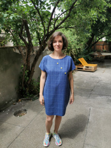 Sewed with generosity Dress