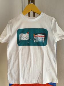Tricou Dințică și frații lopătari