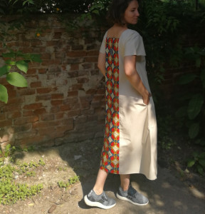 Dress Summer Dress (model E)