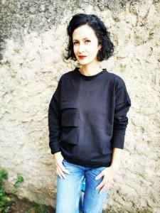 Traveler without luggage (model E) blouse