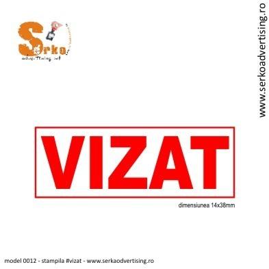Stampila VIZAT