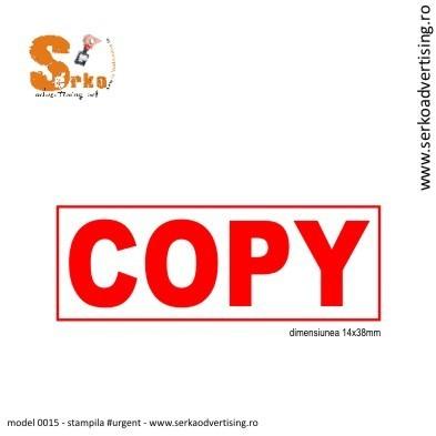 Stampila COPY