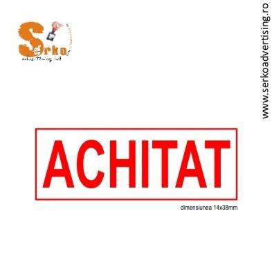 Stampila ACHITAT