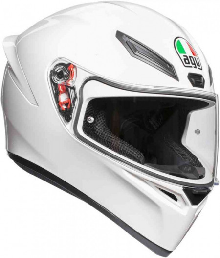 CASCA AGV K-1 MONO WHITE
