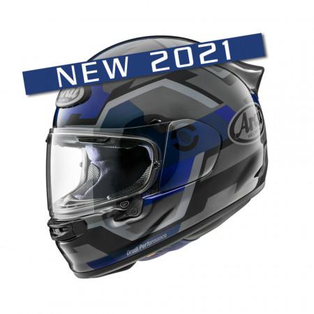 CASCA ARAI QUANTIC 2021 FACE BLUE