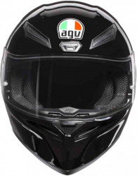 CASCA AGV K-1 MONO BLACK