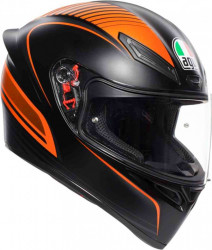 CASCA AGV K-1 WARMUP BLACK/ORANGE