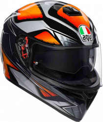 CASCA AGV K-3 SV LIQUEFY ORANGE