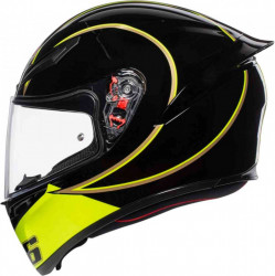 CASCA AGV K-1 GOTHIC ROSSI